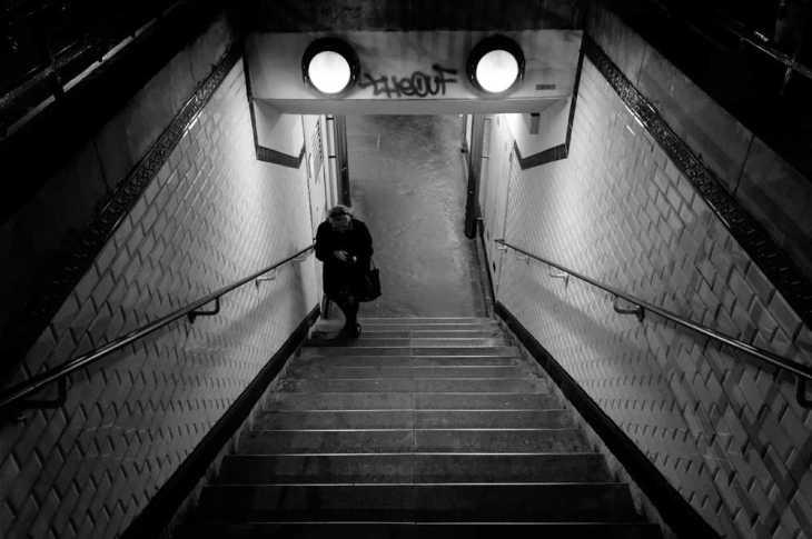 Marches du métro